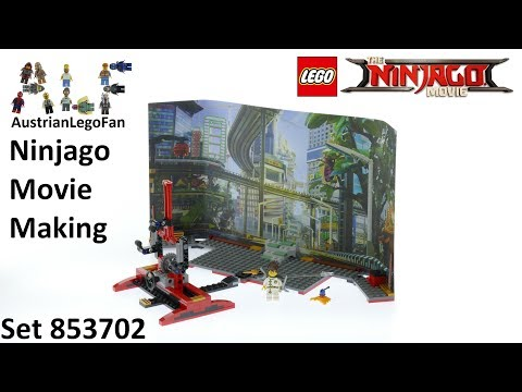 Vidéo LEGO Ninjago 853702 : Ensemble Movie Maker NINJAGO