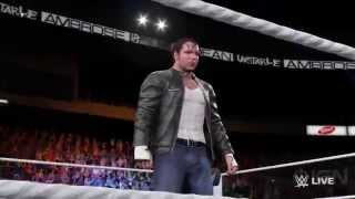 wwe-2k16-daniel-bryan-and-dean-ambroses-entrances-videos