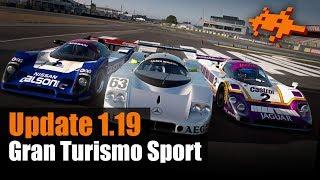Gran Turismo Sport: Update 1.19 - Le Mans! 9 neue Wagen! Gruppe C!