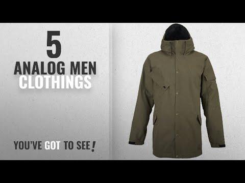 Top 10 Analog Men Clothings [ Winter 2018 ]: Analog Solitary Jacket - Men's Soil Small
