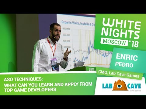 Enric Pedro (Lab Cave Games) - ASO Techniques: What Can You Learn and Apply From Top Game Developers