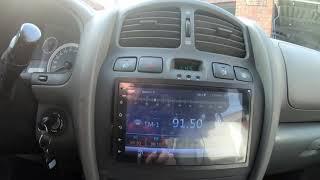 China Autoradio 2 DIN Android 10.1  GPS Navi, Rückfahrkamera, 7-Zoll-HD-Touchscreen,WiFi,Bluetooth