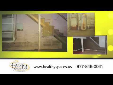 Nasty Crawlspace, Leaky Basement, Got Mold, Cracked Foundations. Healthy Space can Fix It!