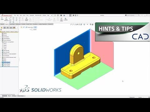Change View Orientations In SolidWorks