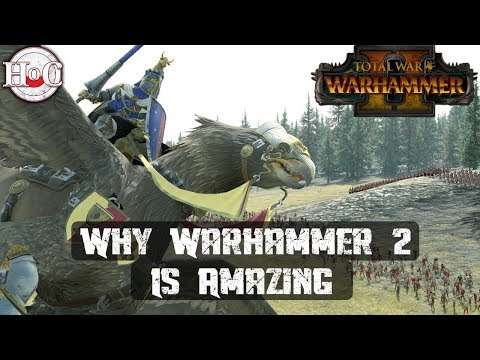 WHY WARHAMMER 2 IS AMAZING - Total War Warhammer 2 - Online Battle 347