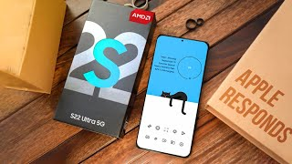 Samsung Galaxy S22 - Apple RESPONDS!