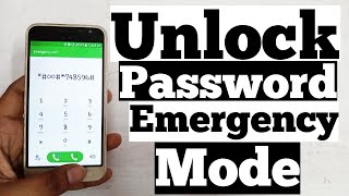 🔴 Live Proof | Emergency Mode Remove Pin Password | Unlock Android Phone Without Data Loss
