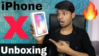 New iPhone X Unboxing & Quick Overview || By Hindi Tutorials