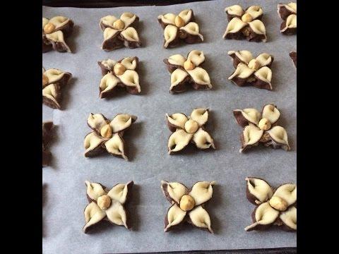 How to make Jasmine flower cookies / Yasemin kurabiyesi/  Печенье Цветок жасмина