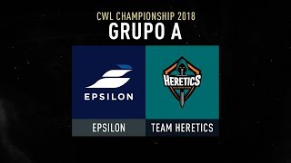 COD CHAMPS - EPSILON VS TEAM HERETICS - #CWLChampsLVP