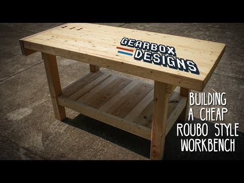 Build A Sturdy, Heavy And Simple Workbench For Around $90