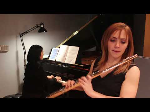 Performance of the Sonata for Flute and Piano by Eldin Burton
