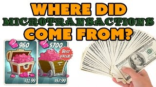 Where Did Microtransactions Come From? - The Know Gaming News