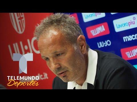 El técnico del Bolonia dio un anuncio que paralizó al Calcio | Telemundo Deportes