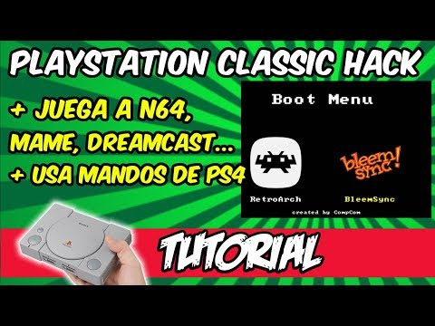 Playstation One Classic with RetroArch and BleemSync - Play