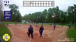 Girls Softball Sectional #34(Winamac) Boone Grove vs North Judson
