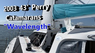 Used Sail Catamarans for Sale 2003 Perry 43 Passagemaker