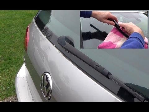 VW GOLF MK7 -Replacing Wiper Blades Front & Rear