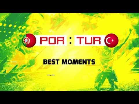 Türkiye-Portekiz Maçı Özet Görüntüler