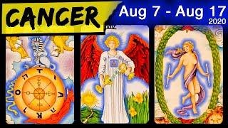 CANCER ~ SOULMATE CONTRACT AND DIVINE INTERVENTION ~ AUG 7-17, 2020, LOVE HOROSCOPE TAROT READING