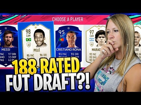 FIFA 19 188 HIGHEST RATED FUT DRAFT CHALLENGE!! FIFA 19 Ultimate Team