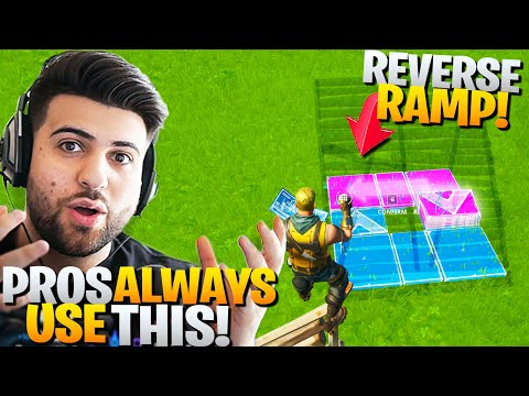 The REVERSE RAMP Trick Pros Use To Win More Fights! (Fortnite Battle Royale)