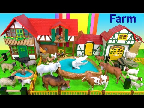 , title : 'Farm Animal Toys For Kids - Cows Sheep Goats - Learn About Farm Animals