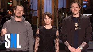 SNL Host Felicity Jones Grants Sturgill Simpson & Pete Davidsons Wish