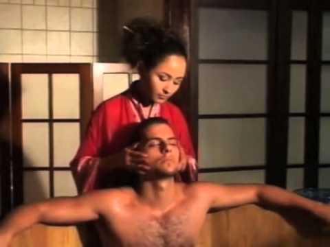 Prostata-Massage zum Mädchen tat