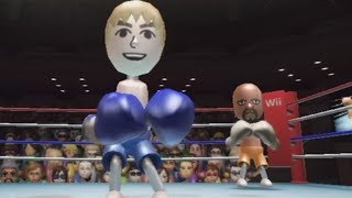 wii sports boxing raging and funny moments
