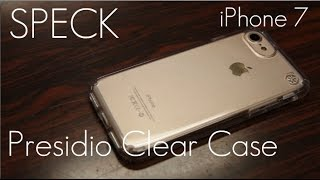 Speck Presidio CLEAR Case - iPhone 7 & 8 Plus - Initial Review / Demo