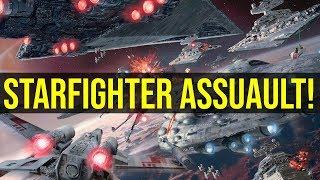 Starfighter Assault! | Star Wars Battlefront II w/ EckhartsLadder