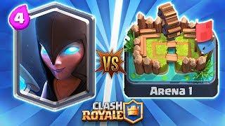 Clash Royale: BRUXA SOMBRIA vs ARENA 1 ‹ EduKof ›