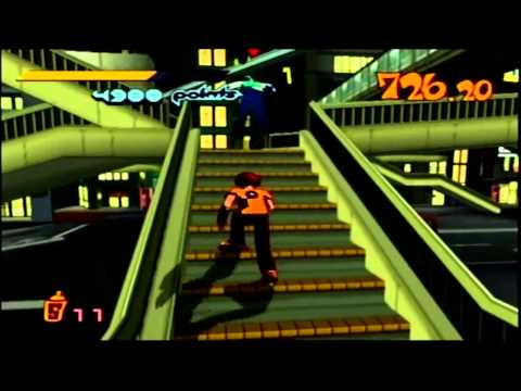 Jet Grind Radio Walkthrough P4 By Vash12349 Game Video Walkthroughs
