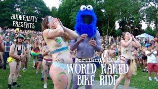 Portland's 2018 World Naked Bike Ride - TEASER