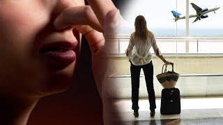 Wanita dan Kedua Anaknya Digiring Keluar Pesawat Hanya Karena Dituduh Memiliki Bau Badan Menyengat