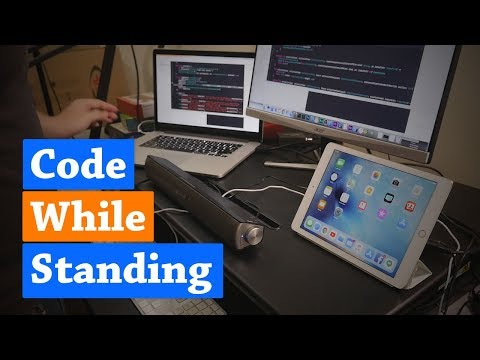 How I Like to Code Standing – Flexispot 35″ Desk Review
