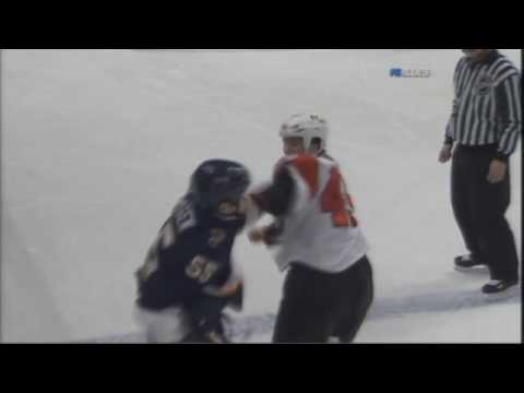 Arron Asham vs Cam Janssen