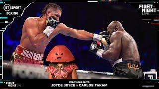 Juggernaut Keeps On Moving 💥 | Joyce v Takam Fight Highlights
