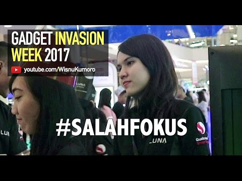 Video Jalan-Jalan Ke Gadget Invasion Week 2017! #GIW2017