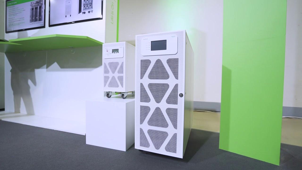 Эксперт Schneider Electric о новых ИБП Easy UPS 3S