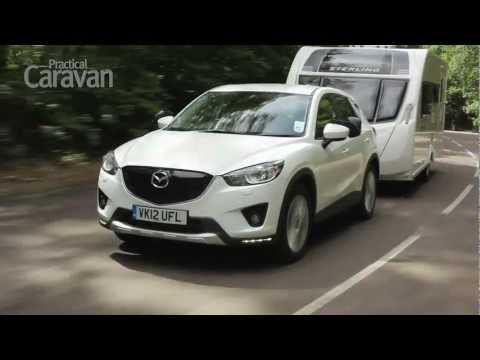 The Practical Caravan Mazda CX5 review