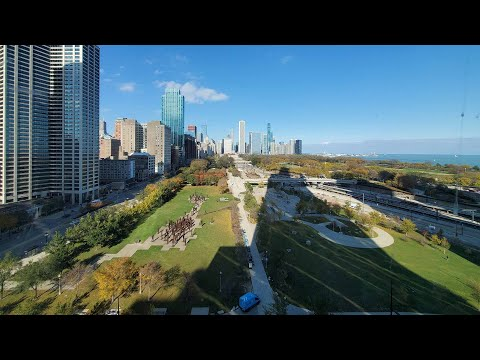 A 1-bedroom + den with 2 baths at the South Loop's iconic new NEMA