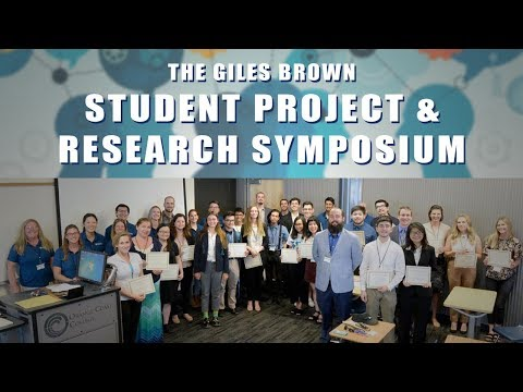 Giles Brown Student Project & Research Symposium