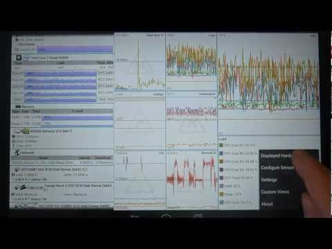 Video of Remote System Monitor