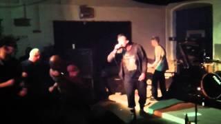 Die Wut (Deutschpunk Gelsenkirchen) Punk Live @ Hof 2015