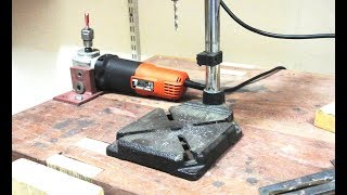 Angle grinder Hack 1 (Router)