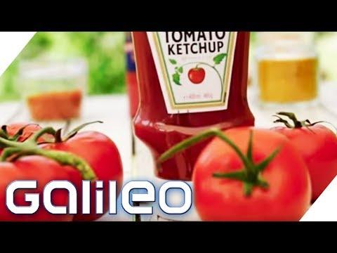 Curry oder Tomate? Das ist der beste Ketchup | Galileo | ProSieben