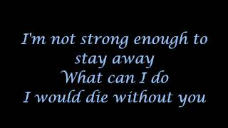 Apocalyptica (feat. Brent Smith) - Not strong enough (lyrics)