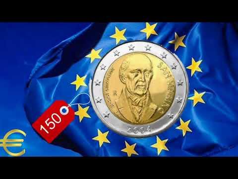 ТОП 10 Самые дорогие юбилейные евромонеты номиналом 2 евро